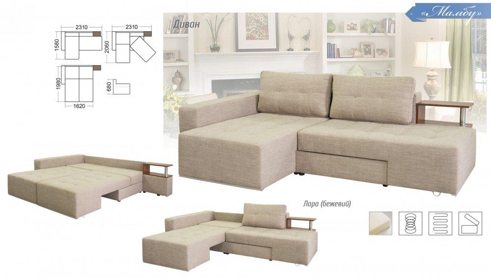 инструкция по сборке дивана малибу